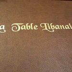Zdjęcie La Table Libanaise