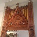 Detail van een door Cuypers ontworpen spiegel