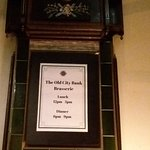 Old City Bank Brasserie Foto