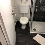 Badezimmer eines Deluxe Zimmers