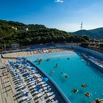 Wave pool - a place to relax!