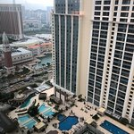 Holiday Inn Macao Cotai Central - view from our room