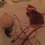 Apple Tartin w/ Cinnamon Ice Cream at Chez Isabelle