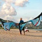 Kiteboarding at Sorrento Beach Club