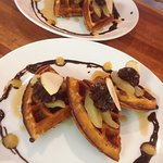 WAFFLE DAY IN BEACHCOMBER. WEDNESDAY UNTIL SUNDAY 8.30AM-10AM