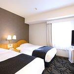 ツインルーム(コンパクトな14㎡・ベッド幅120cm×2台)
