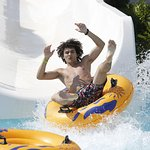 Fun water slides for adults and children