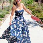 Super Summer Dress Chiffon With Pattern Very Smooth Fabric Hand Make By New Fashion Way Khao Lak Team