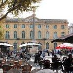 The Corn Exchange and market square - Aix-en-Provence