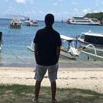Padang bay harbour