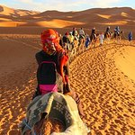 Camel ride tour in desert .. amazing experience
