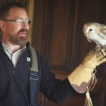 informative, knowledgeable session, met Ossian the owl