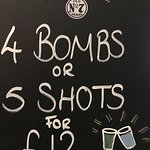 Our shot deals which are available every night of the week but perfect for a Friday and Saturday night with our resident DJ