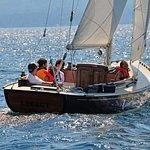 Sailing on a custom made CIL 30 Sailboat