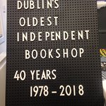 Dublin's Oldest Independent Bookshop estd. 1978