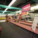 Food court at Bargain City Flea Market