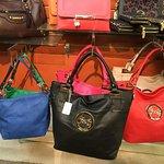 Handbags and more.