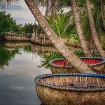 Fish traps and boats
