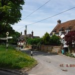 A typical street scene of Owlesbury!