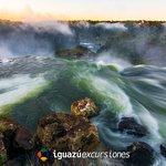 Final del recorrido del circuito superior en el Parque Nacional Iguazú, lado argentino.
