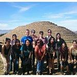 Excursion to the Guachimontones pyramids in Teuchitlan Jalisco, mexico.