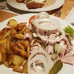 Kartoffel Restaurant Kiste Foto