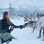 Get up, close and personal with the reindeer. We offer reindeer feeding on all our tours.