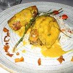 papaya stuffed chicken