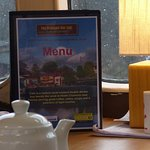 Our new table menus