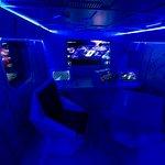 Humans' spaceship