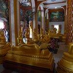 Inneneinrichtung in Wat Chalong