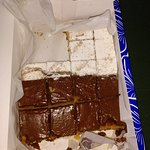 Caja de Magdalenas de chocolate y de azúcar