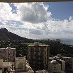 Waikiki Beach Area - View from 25th floor
