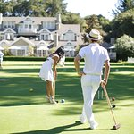 Dress in all white and enjoy a day on the croquet lawn!