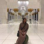 Taken inside the mosque