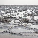 Salt plains on the way to Dalol