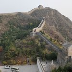 Exit point from Jinshanling Great Wall