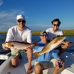 Fun times on the water for these brothers!