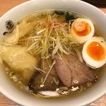 Shop front and Ramen