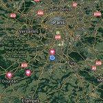 Location of Camping Paris Beau Village