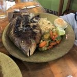 Whole fish was prepared to perfection!
