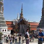 The beautiful grand palace in Bangkok