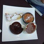 Микс нормандских десертов