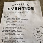 Eventide Oyster Companyの写真