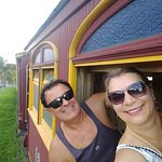 Passeando de trem