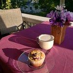 Outdoor season dining at Café & A'more