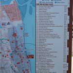 Map of Area - You can walk to most attractions
