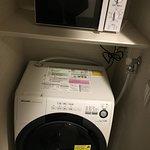 洗濯機と電子レンジもありました...