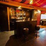 Rivaaj's fully stocked classy bar