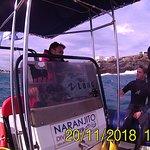 Antoñito el patron y Angel preparandose para la inmersión